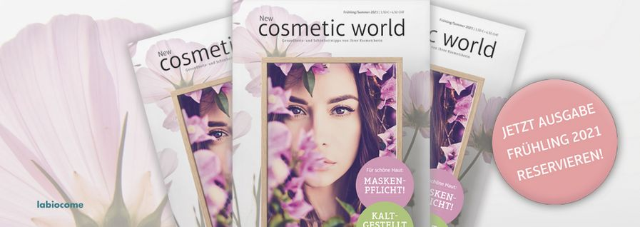 labiocome New cosmetic world Frühjahr 2021
